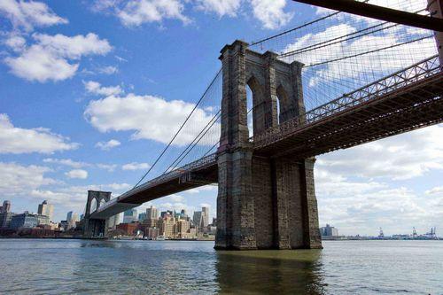 Бруклинский мост: объединяющий нью-йорк
