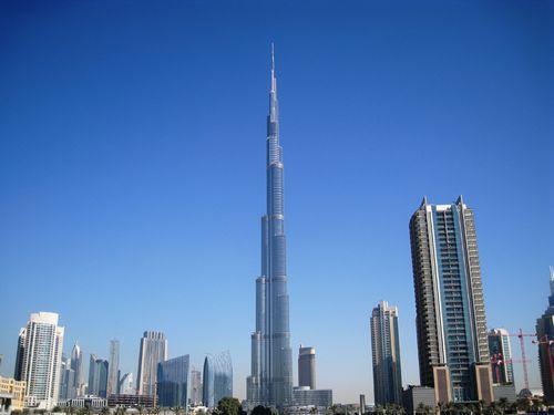 Burj dubai (бурдж дубай) – претендент на звание «чудо света»