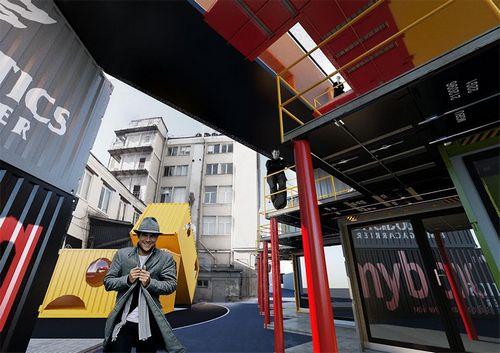 Деловой центр из карго-контейнеров построят в петербурге