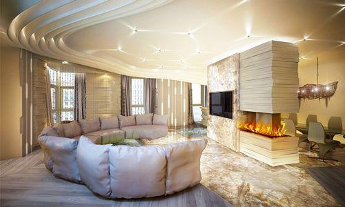 Дизайн-проект: квартира для тусовок в москве
