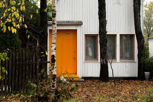 Дизайнерский дом в подмосковье с минимальным бюджетом