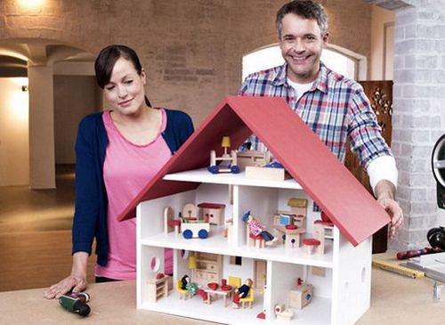 Домик для кукол своими руками - нужен! как за два дня соорудить деревянный домик для многих поколений кукол: фото-инструкция