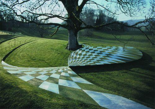 Газон как искусство: ландшафтный дизайн чарльза дженкса