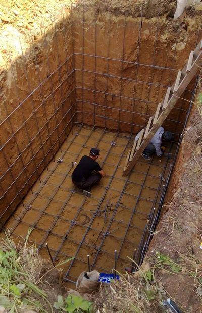 Гидроизоляция погреба с помощью строительной химии
