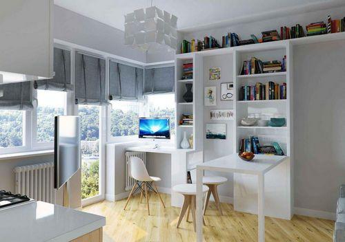 Интерьеры для студий: как обустроить малогабаритную квартиру