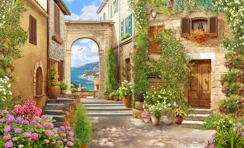 Итальянский дворик: изысканность адриатики в среднерусской полосе