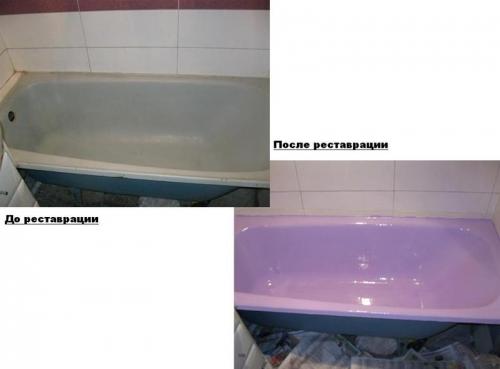 Эмалировка ванн. пошаговая инструкция