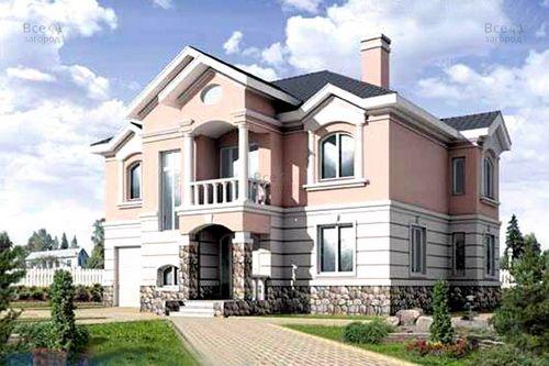 Этапы создания коттеджей и применяемые для этого строительные материалы