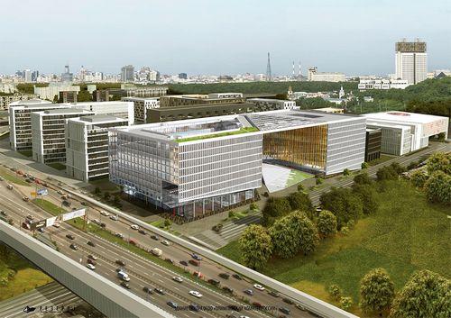 Как будет выглядеть новое здание олимпийского комитета россии