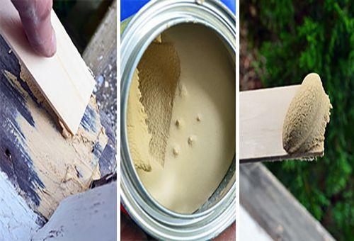 Как использовать шпаклевки для дерева?