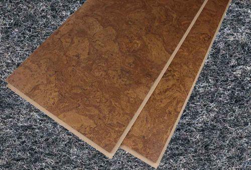 Как уложить пробковую плитку на пол
