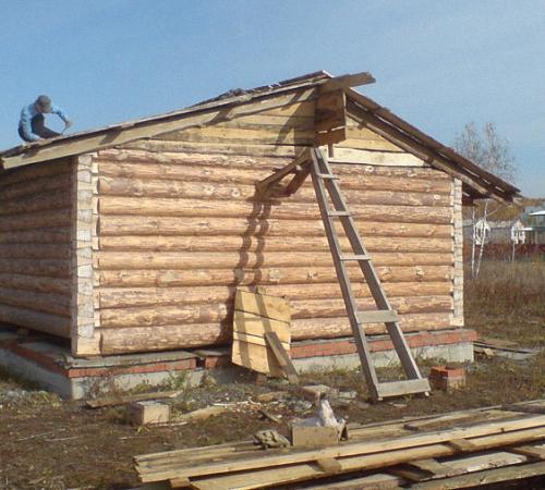 Крыша для бани: устройство, варианты, инструкция по монтажу