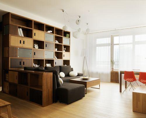 Квартира недели: деревянный лофт с видом на космос