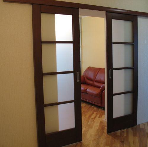 Межкомнатные двери покрытые ламинатом