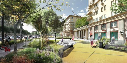 Новая жизнь улиц: каким будет садовое кольцо послереконструкции