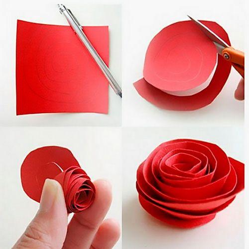 Объемный букет цветов своими руками фото 50