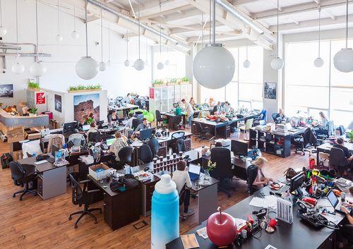 Офис недели: современный лофт в бывшем кб туполева