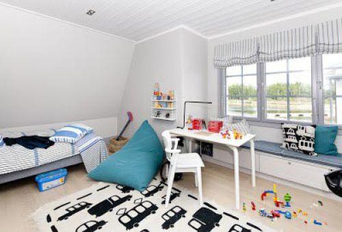 Оригинальное решение – отделка помещения в скандинавском стиле