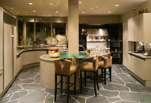 Особенности отделки кухонного пола