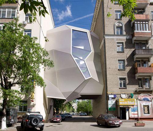 Пять самых необычных офисных зданий москвы