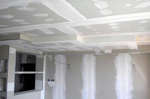 Применение гипсокартона в строительстве и ремонте