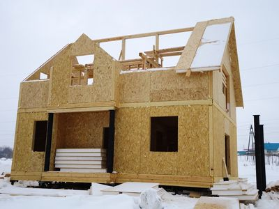 Sip-панели в частном домостроении