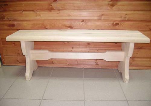 Скамейка для бани своими руками