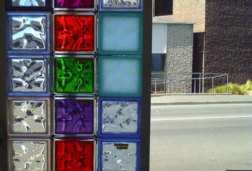 Сказочная атмосфера с помощью стеклоблоков