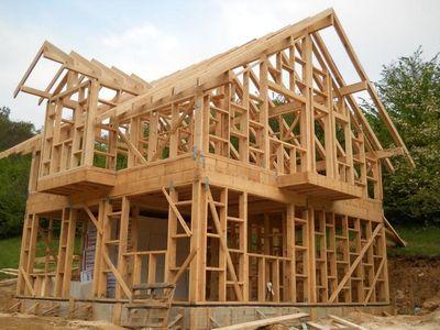Строительство каркасного дома - плюсы и минусы