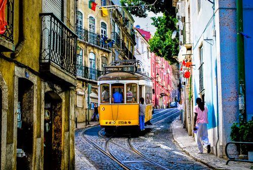Трамвай и газон - имидж современного города
