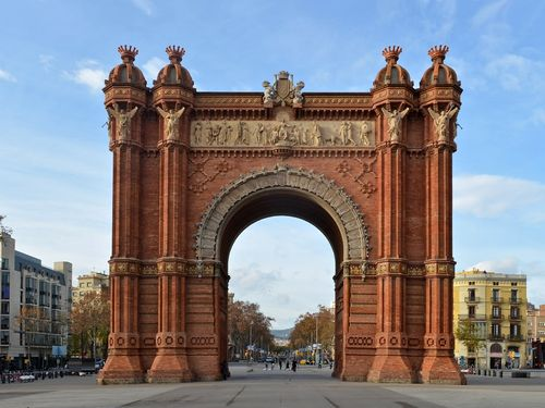 Триумфальная арка в париже: врата, соединяющие эпохи