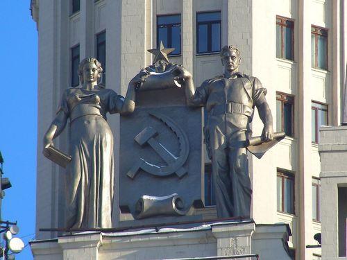 В москве подсчитали примерную стоимость всех сталинских высоток