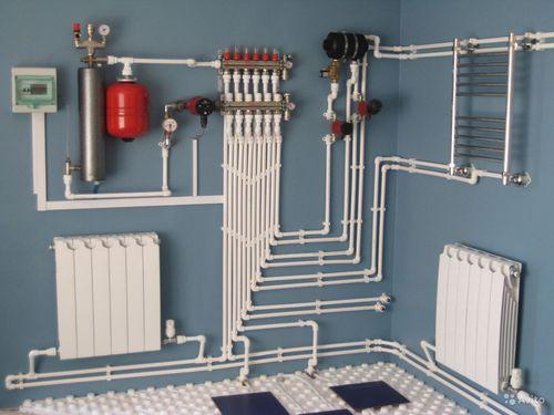 Виды схем отопления