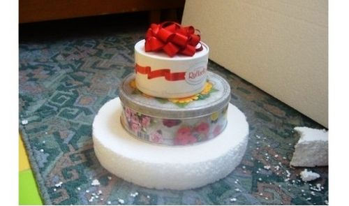 Вкусный презент - торт из конфет своими руками. торт из конфет своими руками пошагово: мастер – класс с фото