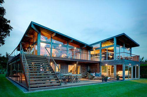 Загородная недвижимость: через поле, через лес мы построим дом чудес