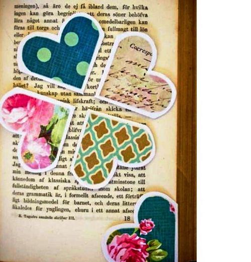 Закладки для книг своими руками: сердечки. оригами, скрапбукинг, детский стиль, косички – много самодельных закладок (фото)